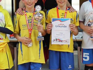 Volleyball: Landesfinale der U12 männlich und weiblich in Gera