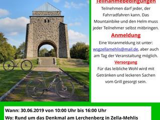 1. Mountainbike- Biathlon in Zella-Mehlis