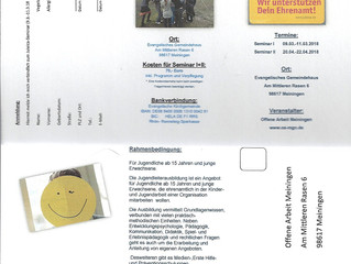 Jugendleitercard-Ausbildung