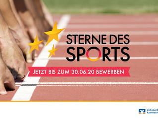 """Der Startschuss ist gefallen!                           Die """"Sterne des Sports""""-Bewerbungsphase begi"""