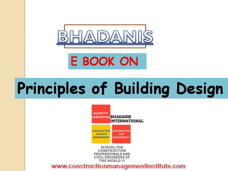 NOTES ON BUILDING DESIGN AND CONSTRUCTION