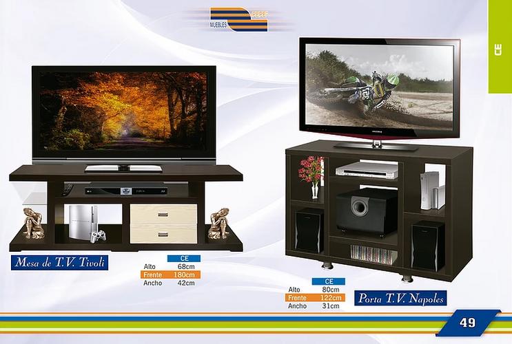 Mesa de TV Tivoli  y Napoles
