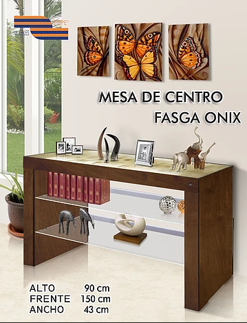 Mesa de Centro Fasga Onix