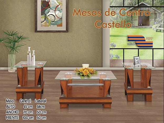 Mesas de Centro Castello