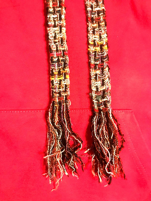 Caly Paris - Cordons chic fourreau en tweed