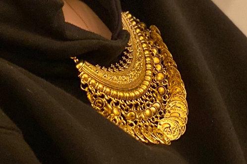 Caly Paris - Cordons Collier doré Tibet