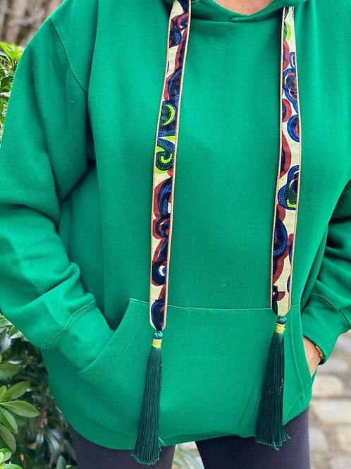 Caly Paris - Sweatshirt personnalisable vert