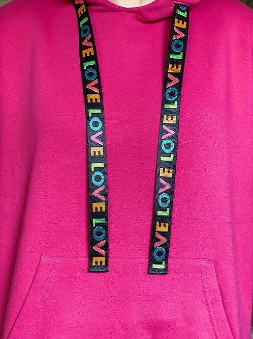 Caly Paris - Cordons Love pour sweatshirt