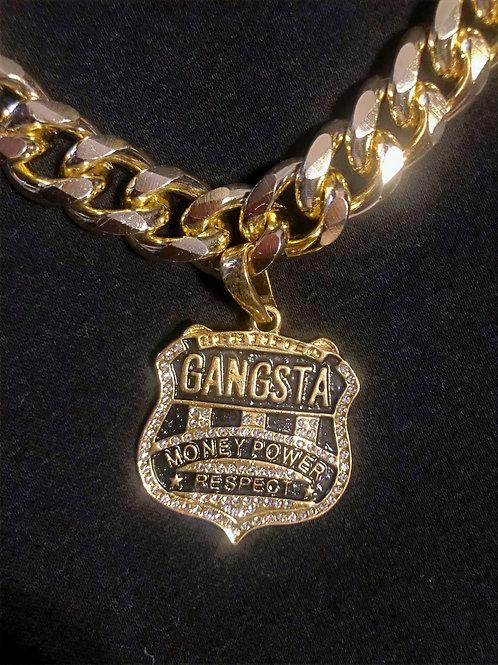 Caly Paris - Cordon Collier Gangsta bling bling