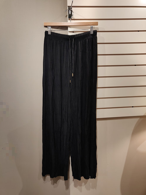 soft loose pants, black, free size