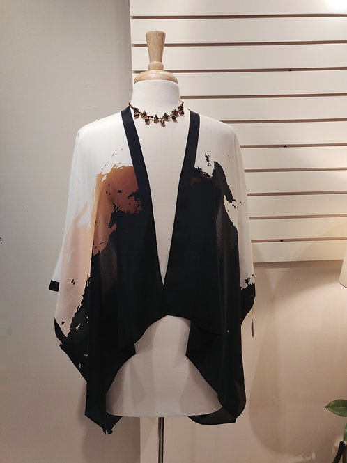 100%silk kimono, one size fits all