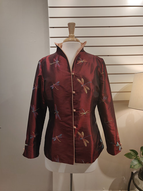 Chinese traditional  dragonfly button jacket