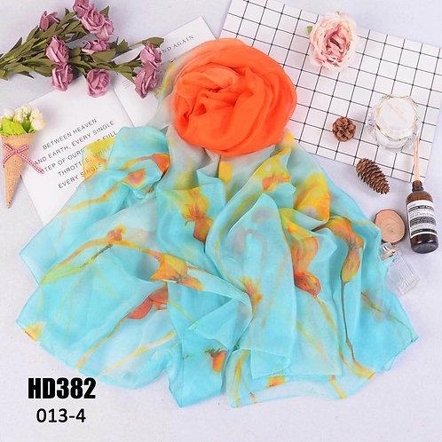 Chiffon scarf /wrap multi- purpose use