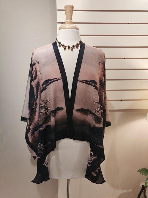 100% silk kimono, one size fits all