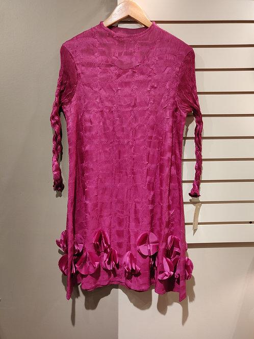 Stretchable dress pink