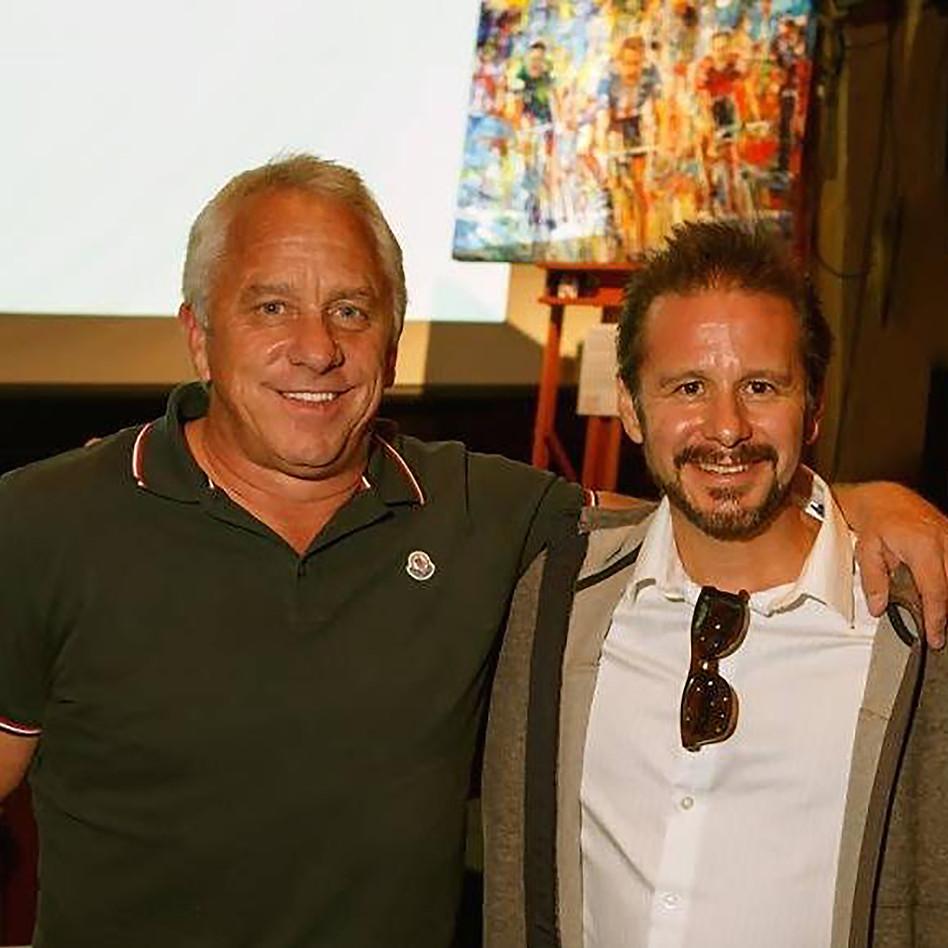 With Tour de France Legend, Greg LeMond