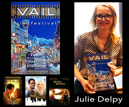 Created Vanguard Award for Actress Julie Delpy