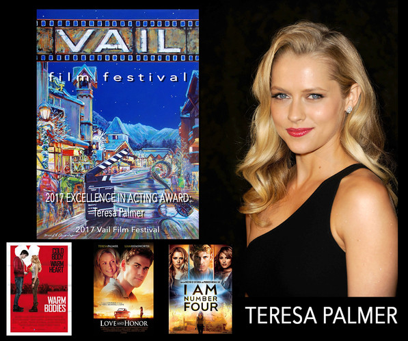 Created Excellence In Acting Award for Acrtess Teresa Palmer