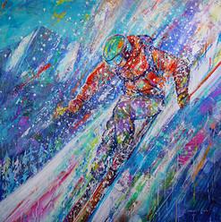 HOLY POW DAY sm 36x36 acrylic DVG 114 D.