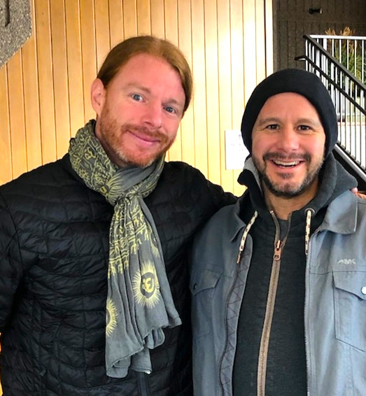 With comedian JP Sears
