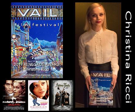Created Renegade Award for Actress Christina Ricci