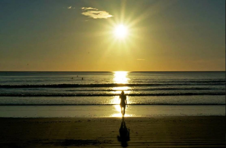 Beach Walking Meditation