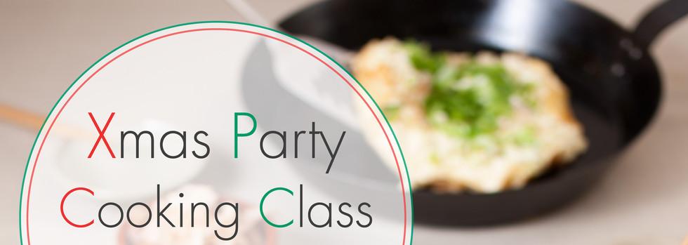 Okonomiyaki Xmas Party Cooking Class