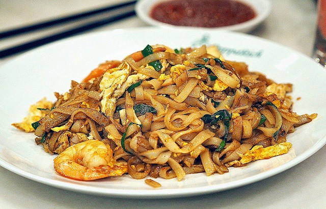 16,556 steps to walk off a plate of char kway teow !