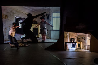 DOSSIER 3-D-Poetry, Marion Dieterle, (This is) Cliff,  dance, contemporary dance, art, performance,  6tagefrei, cardboard, animation, Germany, tanznetz freiburg, contemporary dance cologne, ehrenfeldstudios köln, bewegungs-art freiburg