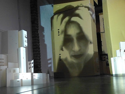 Moving Home, Installation, Marion Dieterle, Dossier 3-D-Poetry, Art, Dance, zeitgenössischer Tanz,