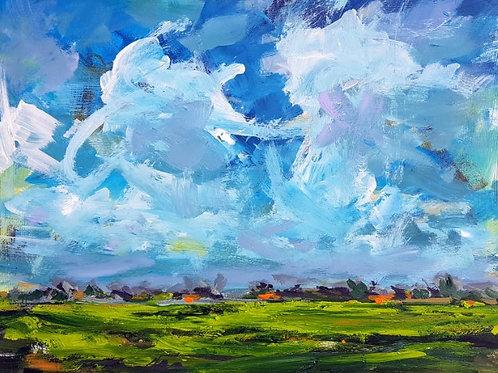 Polder landscapes Beveland serie #34