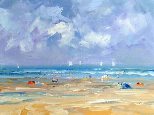 Beach Domburg August 2015