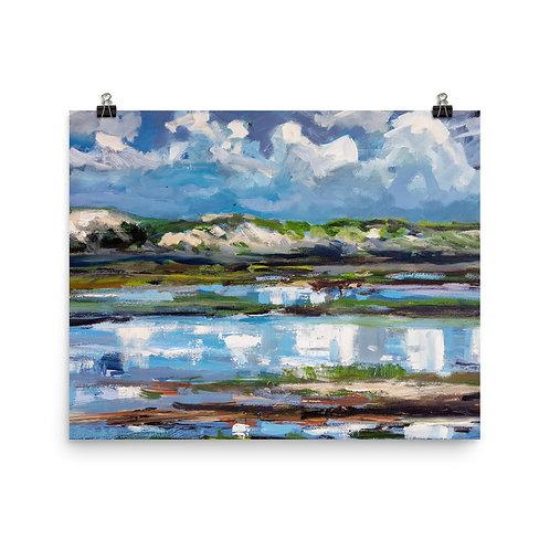 Art print North Sea Het Zwin 2