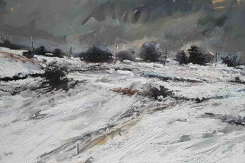 Winter landscape Yorkshire 3