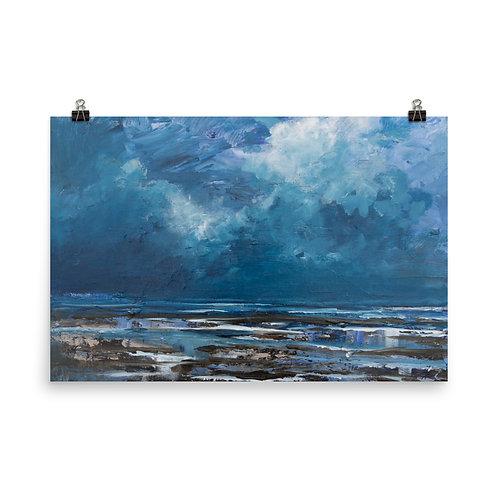 Art print North Sea coast sketches #4