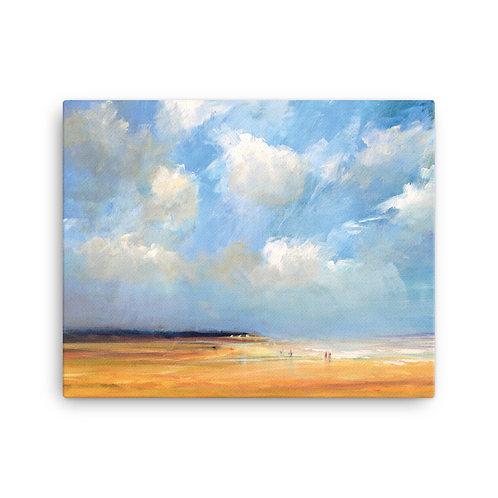 Art print North Sea Beach Het Zwin