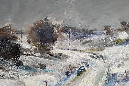 Winter landscape Yorkshire 2