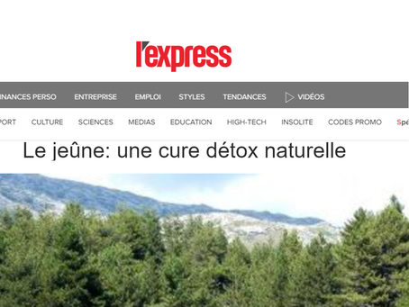 Une détox naturelle comme outil de prévention? Nos amis français du journal l'Express ont tout c