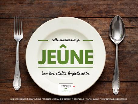 Dates 2020 programmées - réservez dès maintenant votre séjour de jeûne à Val-d'Illiez et Champou