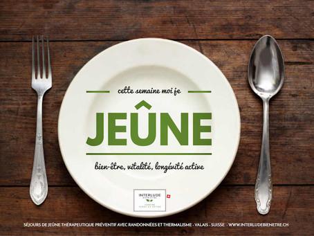 Dates 2020 programmées - réservez dès maintenant votre séjour de jeûne à Val-d'Illiez et Champoussin