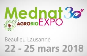 Nous sommes à Mednat Lausanne du 22 au 25 mars !