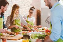 Cuisiner ensemble le repas du soir