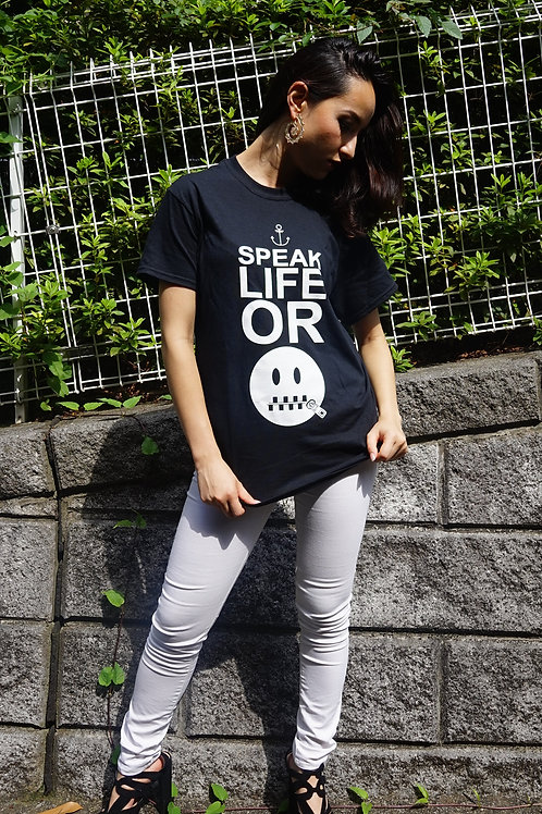 "S-Wrap's ""Speak Life"" Graphic T (FREE SHIPPING)"