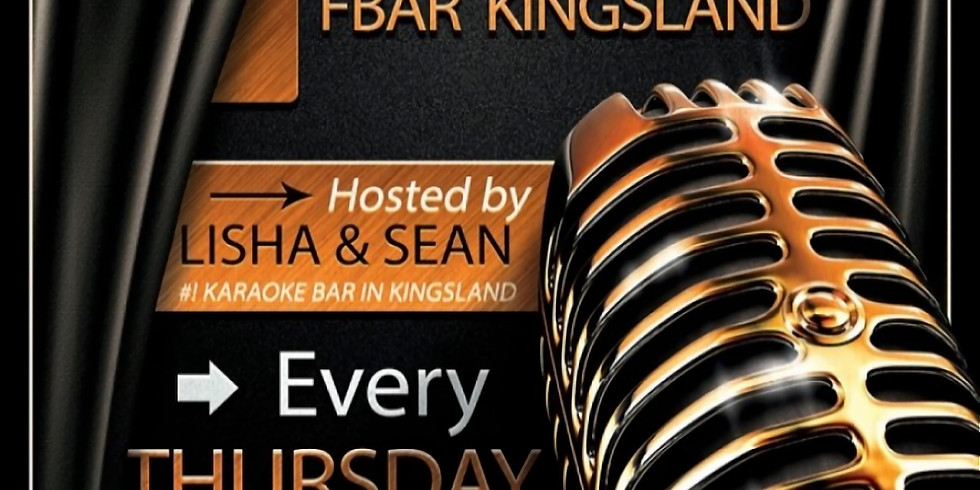 Karaoke - F Bar Kingsland