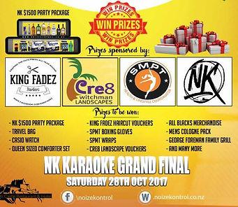 Noize Kontrol Prize Giveaway Competition Grand Final