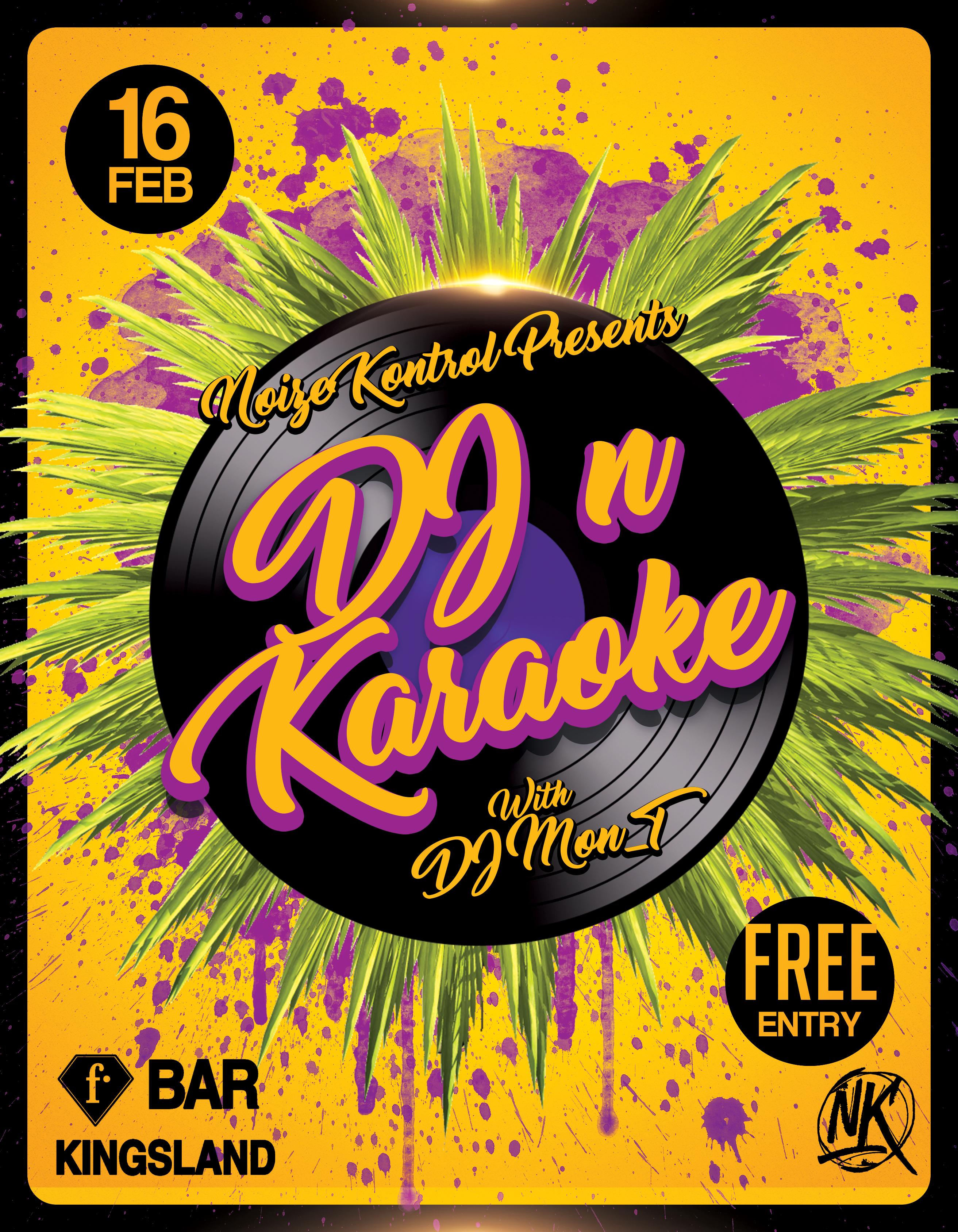Dj n Karaoke F bar