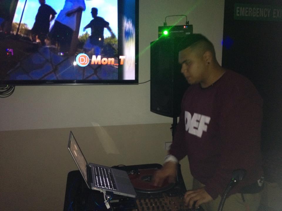 DJ Mon_T F Bar Kingsland