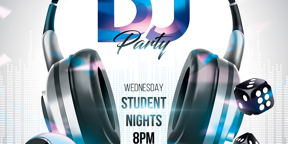 WEDS STUDENT NIGHT WITH DJ MON_T