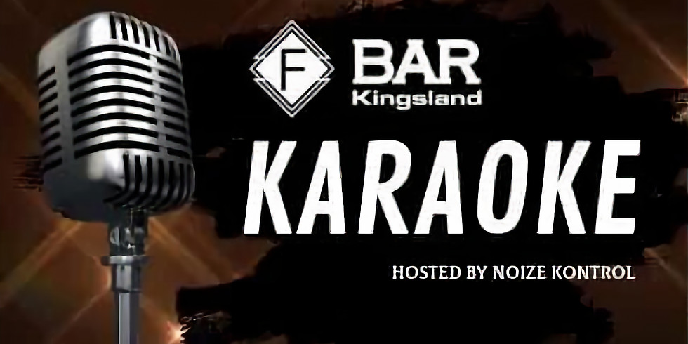 Karaoke Friday - F Bar Kingsland