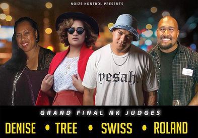 Noize Kontrol Judges Denise Tree Swiss Roland Grand Final